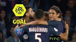 Goal lucas moura (67') / paris saint-germain - dijon fco (3-0)/ 2016-17