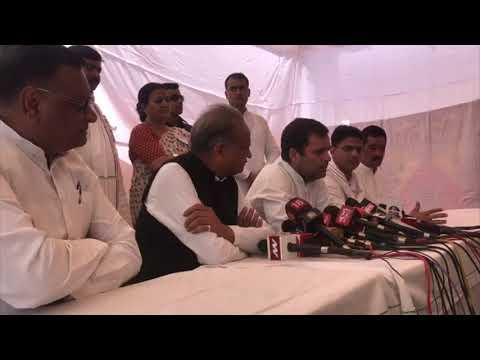 Congress President Rahul Gandhi addresses media on Alwar gang-rape
