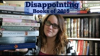 Most Disappointing Books of 2016