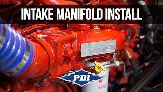 How to Install: PDI Intake Manifold - Cummins ISX15 & X15