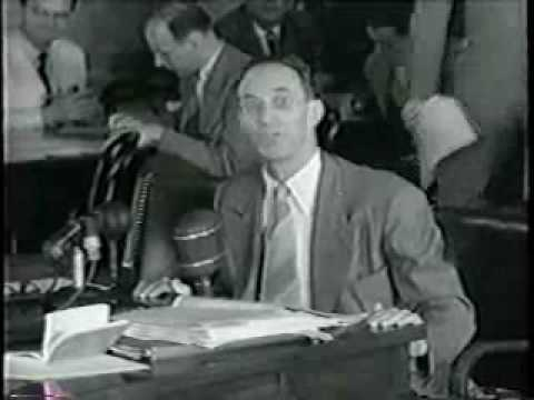 1950 newsreel clip of Harry Bridges following his perjury conviction