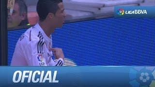 Pase Largo De Chicharito Que No Llega A Rematar Cristiano Ronaldo