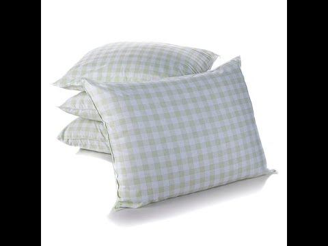 Concierge Collection FleurdeLis Bed Pillows  4 Pack