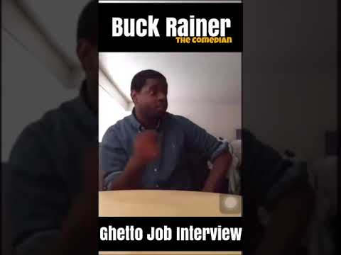 GHETTO JOB INTERVIEW😂😂