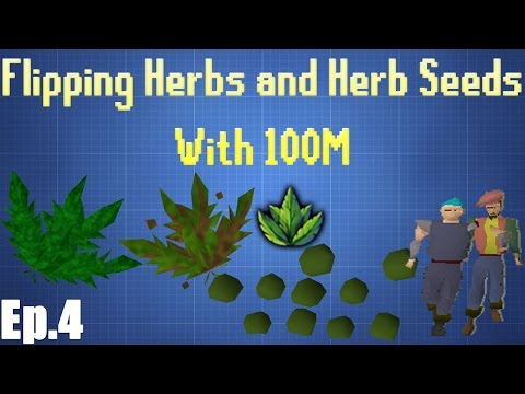 Flipping Herbs/Herb Seeds With 100M for  1 Hour Test [Episode 4]