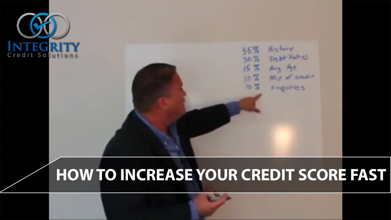 How To Increase Your Credit Score Fast  Integrity Credit Solutions