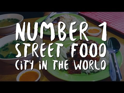 Singapore. Number 1 street food city in the world