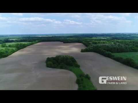 120 Acres of Farmland & Wooded Property for Sale in Warren County, Indiana