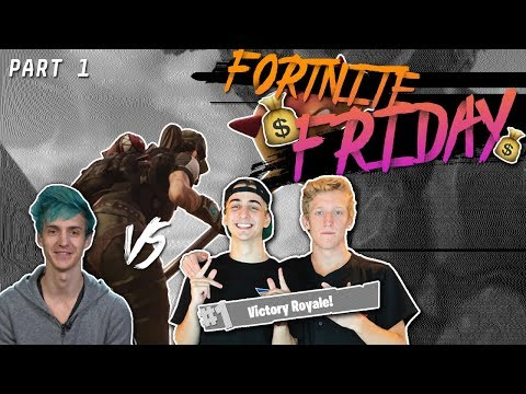 $20,000 Fortnite Tournament FINALS!!! Ninja & KingRichard vs. FaZe Tfue & Cloak | Part 1