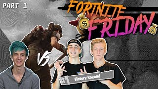$20,000 Fortnite Tournament FINALS!!! Ninja & KingRichard vs. FaZe Tfue & Cloak | Part 1
