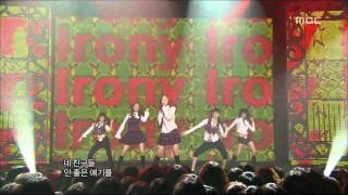 Wonder Girls - Irony, 원더걸스 - 아이러니, Music Core 20070303