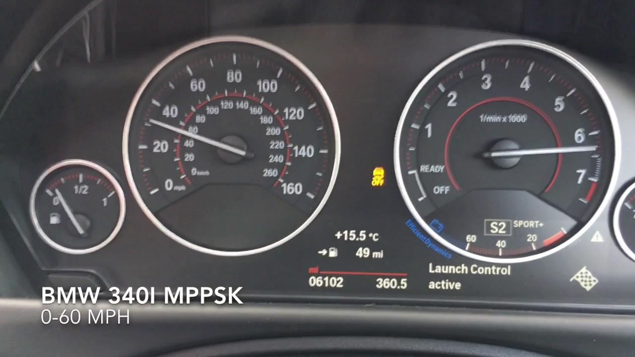 BMW 340i MPPSK 0-60mph
