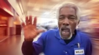 mr willie bam wal mart greeter remix