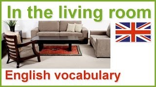 House and home English vocabulary lesson | The living room