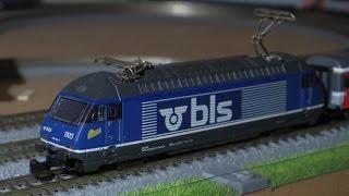 märklin mini club 88465 BLS class 465 Electric Locomotive/メルクリン ミニクラブ 鉄道模型 BLS 465形電気機関車