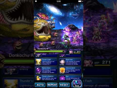 FFBE - Training the Soul Trials Full Clear No TMR
