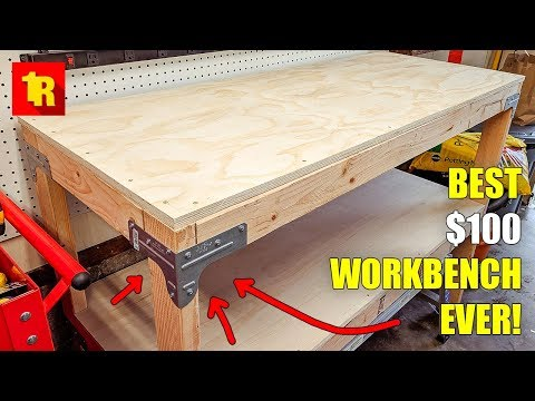 BEST DIY WORKBENCH BUILD EVER!!