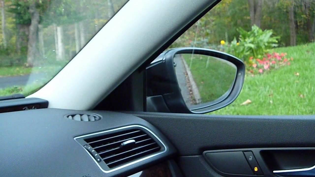 Vw Passat Auto Passenger Lowering Mirror Explained Curb