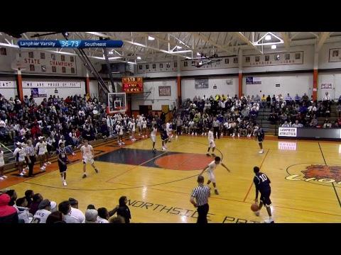 Boys Basketball Lanphier - Southeast Varsity