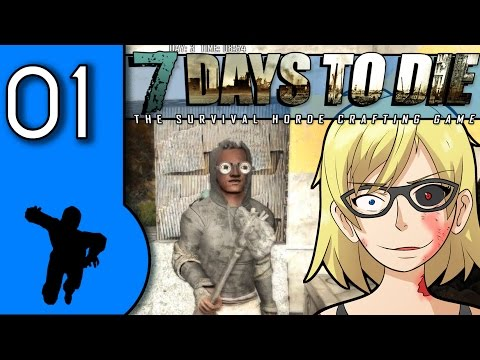 7 Days to Die alpha 15 group survival gameplay - 01 - Teaching Exo tips and tricks