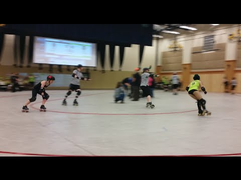 Apple City Roller Derby v Atomic City Roller Girls - 3/14/15 -1st half