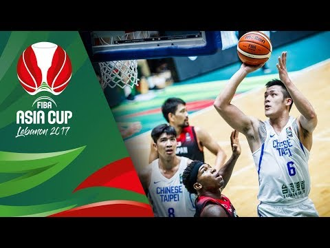 Chinese Taipei Offense Highlights - FIBA Asia Cup 2017