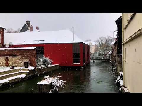 Louviers sous la neige