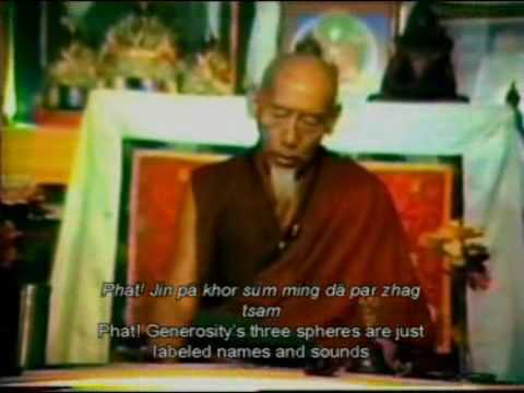CHOD MELODIES (Part 6) by KYABJE ZONG RINPOCHE