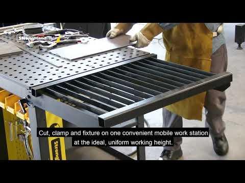 Add a Plasma Cutting Tray to your Rhino Cart®