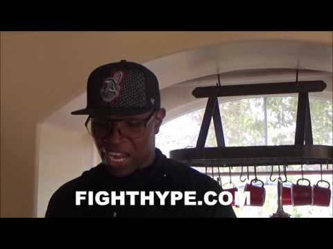 """KENNY PORTER WARNS ANDRE BERTO THAT SHAWN EAGER TO DELIVER POUNDING; EXPLAINS """"FAST CHESS"""" GAME PLAN"""