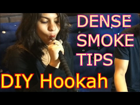 How to make hookah smoke dense at home – set up shisha flavour