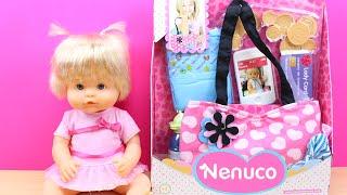 Primer Bolso de Nenuco en español | Bag baby doll Nenuco | Las bebés Nenuco van al parque