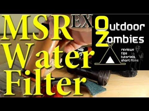 MSR MiniWorks EX Water Filter OutDoorZombies
