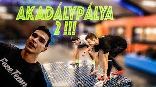 AKADÁLYPÁLYA VERSENY 2 !!!  ( ft. GERY & FACETEAM - CYBERJUMP)