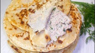 Вкусные лепешки с фаршем, по мотивам таджикского блюда Хомкима