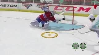 NHL 14: THE Save of the YEAR!!  (EA Logic involved)