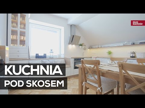 Kuchnia Pod Skosem Studio Max Kuchnie Meble Fler Gdów
