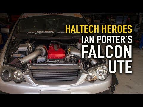 Ian Porter's Falcon Ute - Haltech Heroes