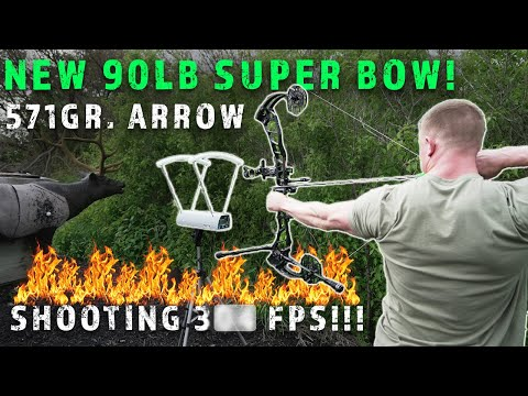 NEW 90 LB SUPER BOW SETUP! THESE BOW SPECS ARE INSANE   Bowmar Bowhunting  