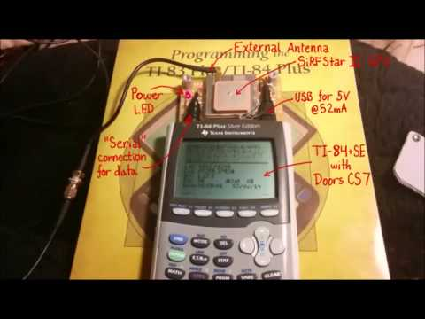 GPS For Graphing Calculators: A TI-84+SE Finds Itself