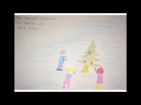 1. Adventsgeschichte: Die Überraschungstanne im Garten von Oma Klein