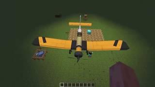 Minecraft MCheli mod 1.7.10 - Planes to Maincraft - Alexuha Minecraft