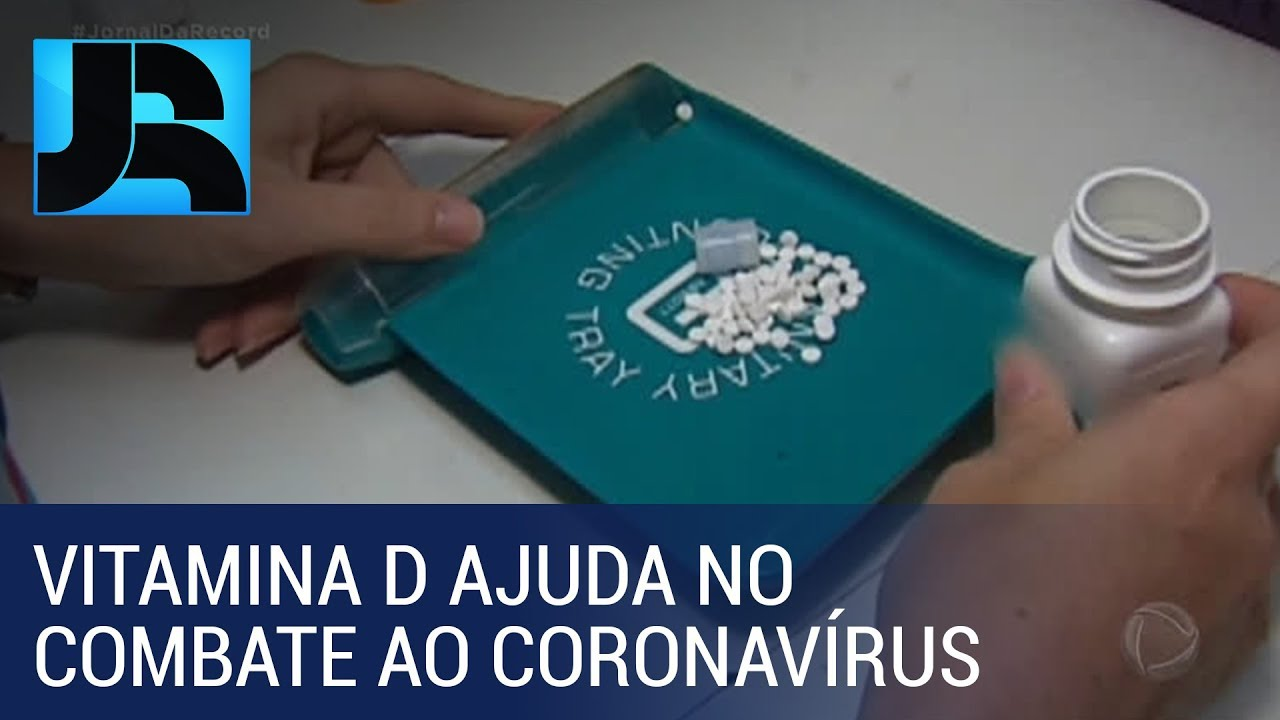 Cientistas italianos identificam que a vitamina D tem papel importante no combate ao coronavírus