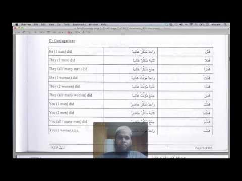 Easy Etymology (Tasheel-us-Sarf) - Lesson 1 - YouTube