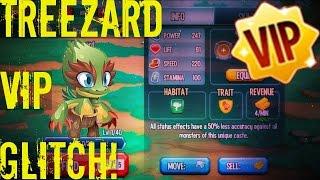 Monster Legends - Treezard VIP Monster Glitch | Bulwark Glitch