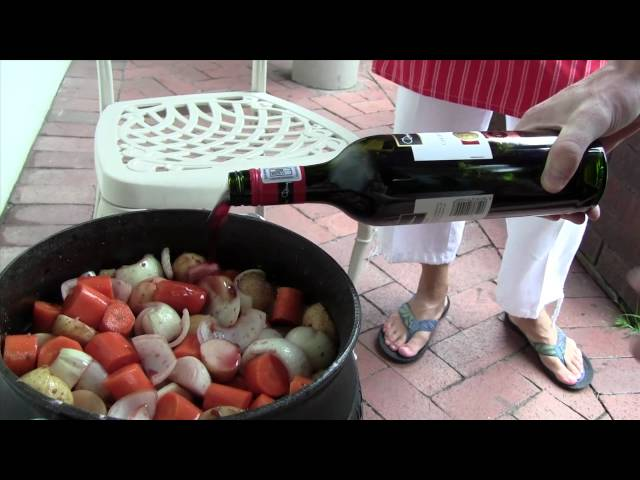 How to Cook a Potjie