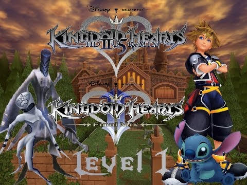 Kingdom Hearts 2:Final Mix-twilight town mansion nobody's lv.1