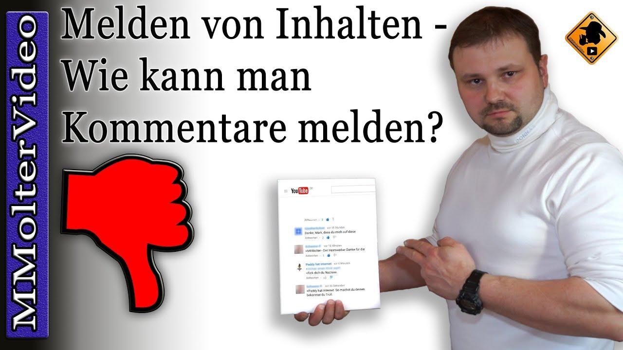 Youtube Kommentar Melden