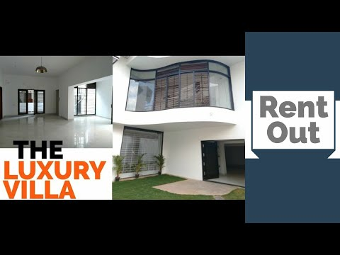Architect Design 5BHK Villa for RENT at Bangalore Top Location Luxury House Tour Video