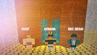 Ariana Grande ft Iggy Problem ROBLOX Music Video